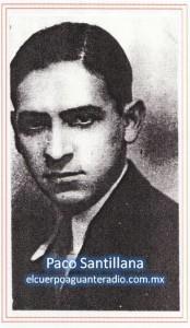 Paco santillana-sello