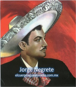Jorge Negrete-sello