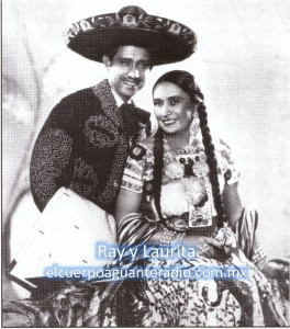 Ray y Laurita-sello