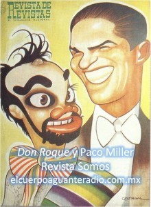 Paco Miller y Don Roque-sello