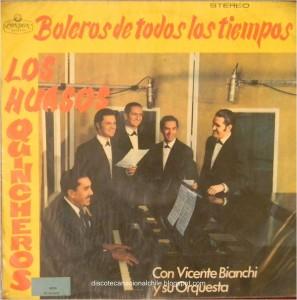 Los Huasos Quincheros- Boleros de Todos Los Tempos- Portada
