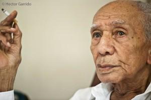César Portillo de la Luz, músico, en su casa de La Habana, Cuba