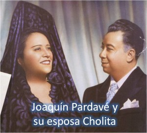 joaquin Pardave y cholita
