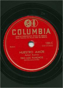 Los Panchos 78 rpm