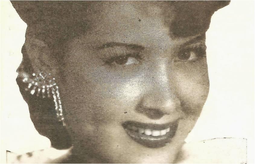 Carmencita Pernett en una canción colombiana para el mundo