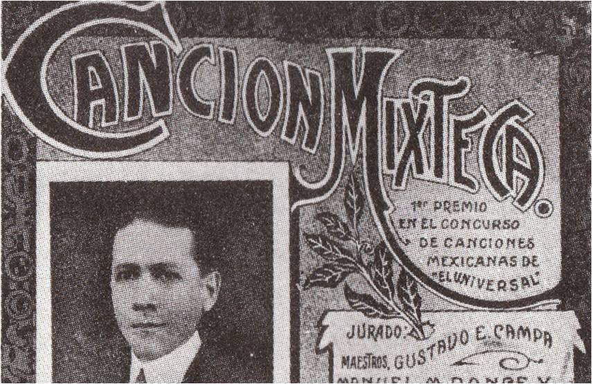 Se cumplen 100 años de La Canción Mixteca, ganadora de un concurso de El Universal.
