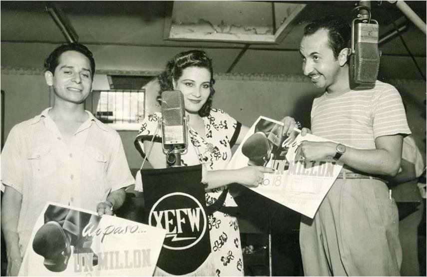 Fernando Z. Maldonado con su esposa María Alma
