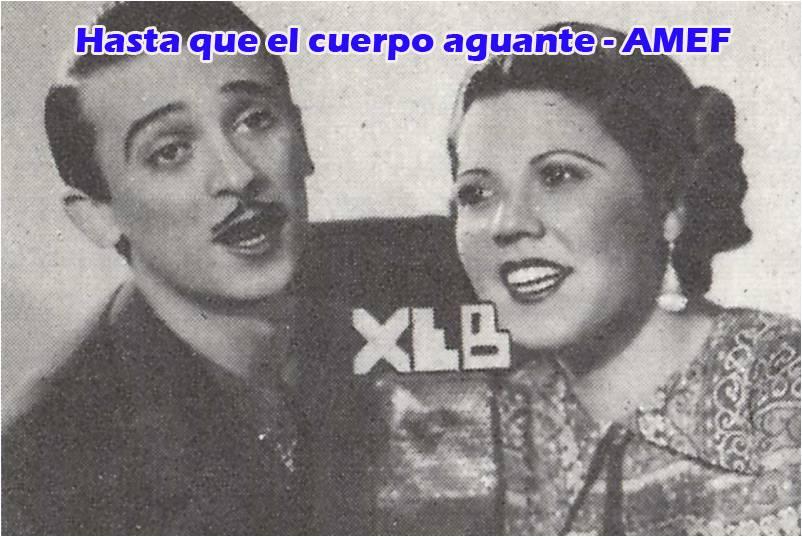 Margarita Romero y Wello Rivas, estrellas de la XEB y la Picot